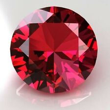 Ruby Pigeon Blood Red Round Natural Genuine Transparent Faceted AA Loose Melee