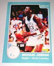 Michael Jordan 1985 Star North Carolina Rookie Error Logo Basketball Card No 2
