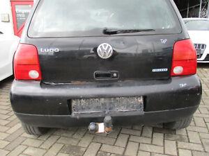 VW Lupo 6x1 parte trasera parachoques atrás 98-05 negro plástico ABS mercancía Premium
