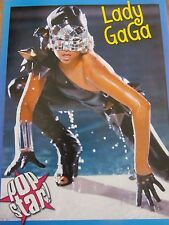 Lady Gaga, Cory Monteith, Double Full Page Pinup