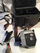 Quarz 5 russian cine camera camcorder 8mm complete in bag with extra lenses etc