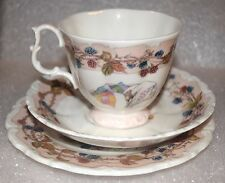 "EUC 1983 Royal DOULTON Brambly HEDGE Bone China AUTUMN Tea Cup, Saucer, 8"" Plate"