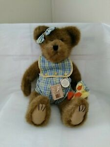 "LG. Boyds Bears Macy Sunbeary 16"" Bear with Chick Style 911952 N/W/T * EASTER *"