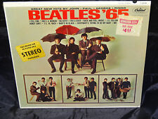 The Beatles Beatles '65 SEALED USA 1964 1ST PRESS MONO PASTA ON COVER LP