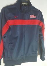 Nike Boys Blue/Red Ole Miss Full-Zip Jacket Medium (12-14)