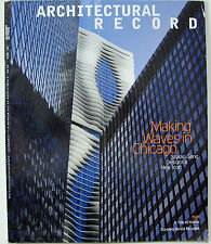 Architectural Record Magazine 05 2010 Making Waves In Chicago