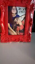 2 Estilo Vintage Rojo Shabby Chic 4x6 Marcos de Fotos Nuevo