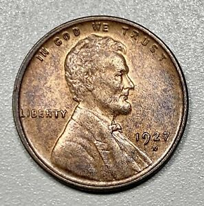 1927-D Lincoln Cent 1c Wheat Penny UNC!