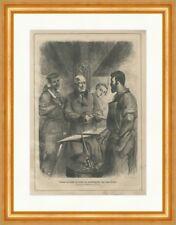 Nicolas de DREYSE l'inventeur du zündnadelgewehrs superbe gravure sur bois E 23776