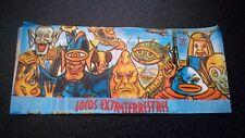 unopened monsters stickers wrapper - sobre de cromos sin abrir monstruos