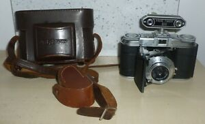 Vintage Voightlander Vito II  35mm camera with Skopar 50mm f3.5 lens