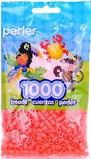 1000 Perler hot coral Color Iron On Fuse Beads  80-19059