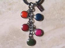 ~Coach Keychain Key Fob Enamel Multi Mix Sold Out in Stores..NWT!!~