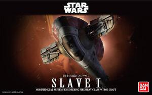 Bandai 1/144 Scale Model Kit Star Wars Firespray Class Patrol Spacecraft Slave I