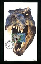 US FDC Barre #3136a World of Dinosaurs Ceratosaurus 17/20 Grand Junction CO 1997