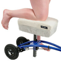 """Knee Scooter Comfy Cushion by TKWC INC, 2"""" Thick Knee Walker Knee Pad and Cover"""