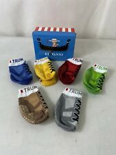 TRUMPETTE GIOVANNI - Baby Sock Set 6 Pairs Trainer Style In Gift Box 0-12 Months