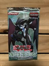 Yu-Gi-Oh! Power of the Duelist 1st Edition Factory Sealed Booster Pack