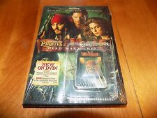PIRATES OF THE CARIBBEAN Dead Man's Chest Rare Edition W/ Collector Pin DVD NEW