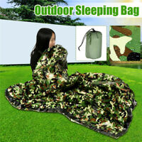 155x213cm 1 Person Outdoor Sleeping Bag Waterproof Hiking Camping Keep Warm