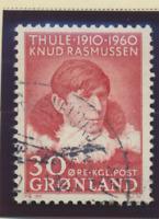 Greenland Stamp Scott #47, Used