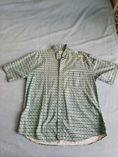 NATURAL ISSUE Men's L Hawaiian Shirt short sleeve Excellent cond. 100% cotton