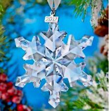SWAROVSKI 2012 Annual LARGE Star /Snowflake ORNAMENT incl/ Certificates New