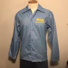 vintage pla-jac by dunbrooke nylon windbreaker blue size 38 Redi-serve