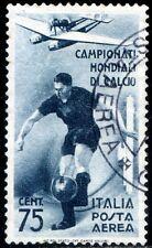 Regno d'Italia 1934 Mondiali di Calcio P.A. n. A70 usato (m2738)