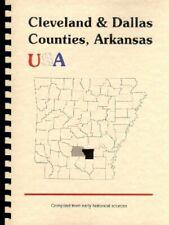 Cleveland Dallas County Arkansas 1890 Goodspeed History Bios Rison AR Fordyce RP