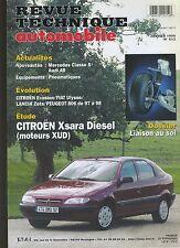 (7A)REVUE TECHNIQUE AUTOMOBILE CITROEN XSARA D / EVASION /ULYSSE / ZETA/ 806