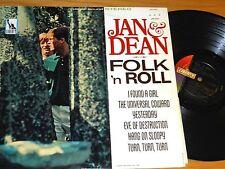 "STEREO LP - JAN & DEAN - LIBERTY LST-7431 - ""FOLK 'n ROLL"""