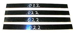 2' Tattoo Machine Blue Spring Steel Stock .022 Thick Gauge Binder Parts