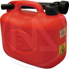 Tanica in PVC Rossa da 20 litri per carburanti norme CEE Maurer