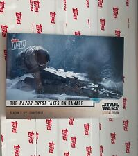 2020 TOPPS NOW STAR WARS THE MANDALORIAN PACK SEASON 2 CHAPTER 10 Card 9