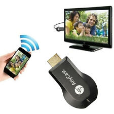 Black HDMI WIFI TV Dongle Stick 1080P DLNA Airplay Chromecast Receiver EZCast