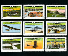 Switzerland Stamps # 1913 and older 9 values set of airplanes