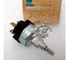 """Mopar """"NOS"""" 1971-77 B-Van & 72-81 A, D, W Truck 2 Speed Wiper Switch 3004104"""