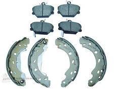 SMART CAR FOR TWO ROADSTER CITY CABRIO FRONT BRAKE DISC  PADS AND REAR SHOES