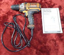 Black+Decker BDEDMT Matrix Quick Connect 4-Amp Corded AC Drill/Driver #1157