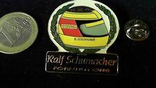 Ralf Schumacher F1 Formel 1 Helm Helmet Pin Badge