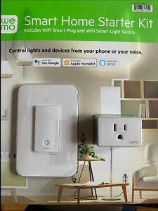 Smart Home Starter Kit WEMO WiFi Smart Plug and WiFi Smart Light Switch