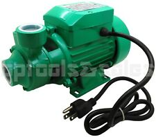 1HP CLEAR WATER PUMP ELECTRIC CENTRIFUGAL CLEAN WATER INDUSTRIAL FARM POOL POND