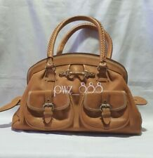 "CRISTIAN DIOR ""MY DIOR"" Large Frame Pocket Satchel Bag"