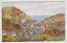 Cornwall postcard - Polperro - ARQ No. 2416