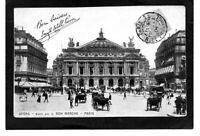 cpa PARIS - L'Opéra (1906)