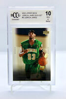 2003 Upper Deck LEBRON JAMES #6 - ROOKIE CARD RC - BECKETT BCCG 10 Mint Box Set