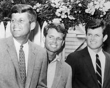 JFK TED ROBERT KENNEDY 35TH US PRESIDENT 8X10 PHOTO #1