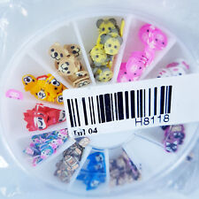 Brand New Nail Art Wheel with 12 Storage Slots - Animal Designs Nail Technician