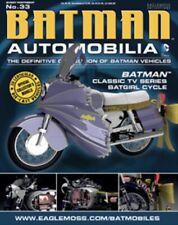 Batman Automobilia Classic TV Series. Batgirl Cycle. Eaglemoss #33. Brand New